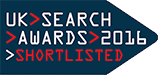 UK Search Awards 2016 - Shortlisted