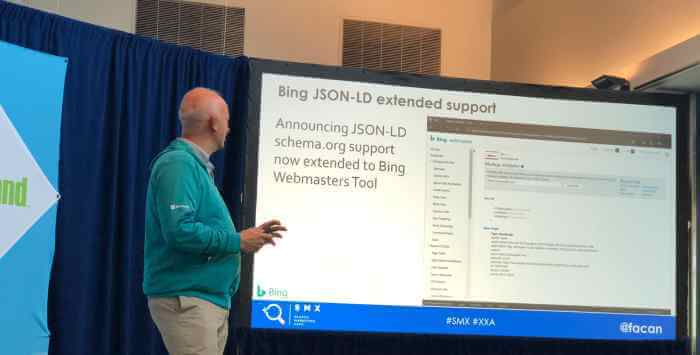 Bing Webmaster Tools announcement of JSON-LD support
