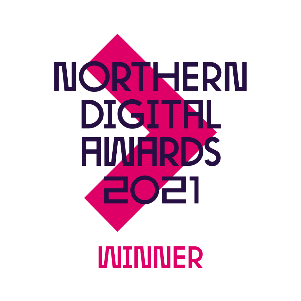 2021 Northern Digital Awards Winner