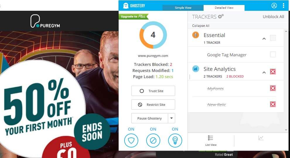 Ghostery chrome extension helps you take control of your privacy